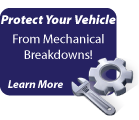 Protect your vehicle from mechanical breakdowns - Learn more