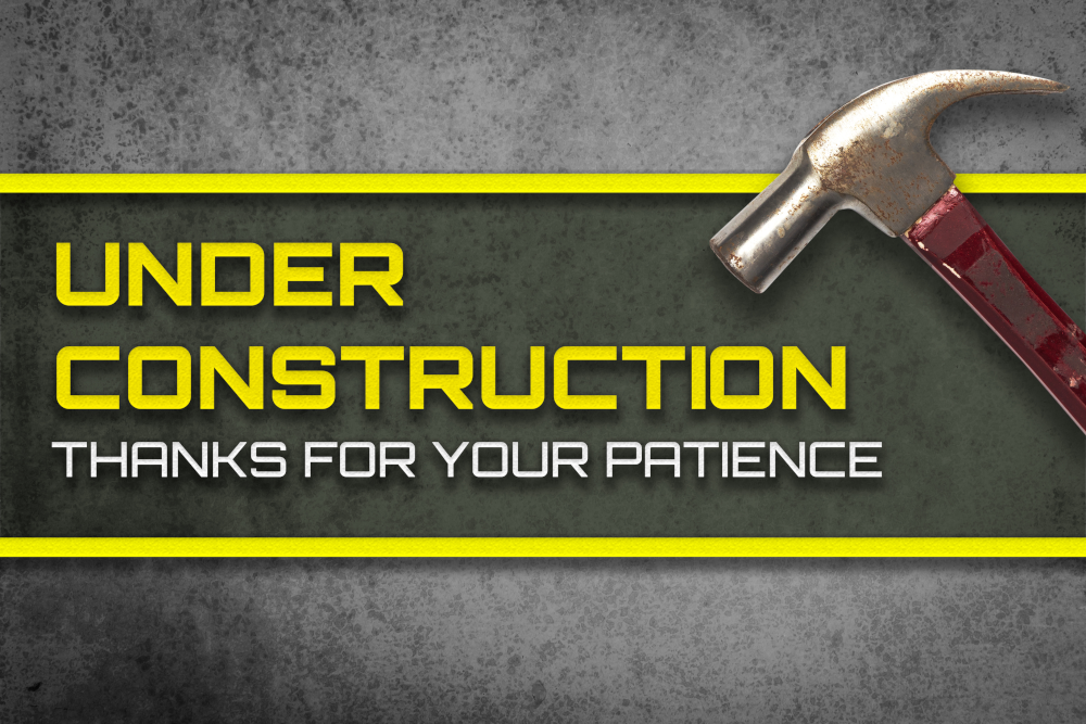 Under construction. Thank you for your patience.